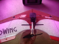 """Name: DSC03011.jpg Views: 165 Size: 72.4 KB Description: Back view showing feigao 12mm inrunner and 3"""" prop"""