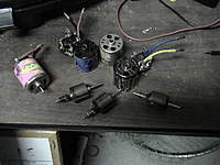 Name: Rc boats 032.jpg Views: 160 Size: 71.5 KB Description: These are some of my motors that failed. The pink Pocket Rocket also has historical value and will be redone aswell.