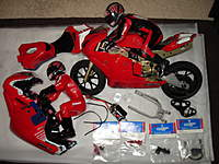 thunder tiger ducati electric r/c motorcycle - rc groups