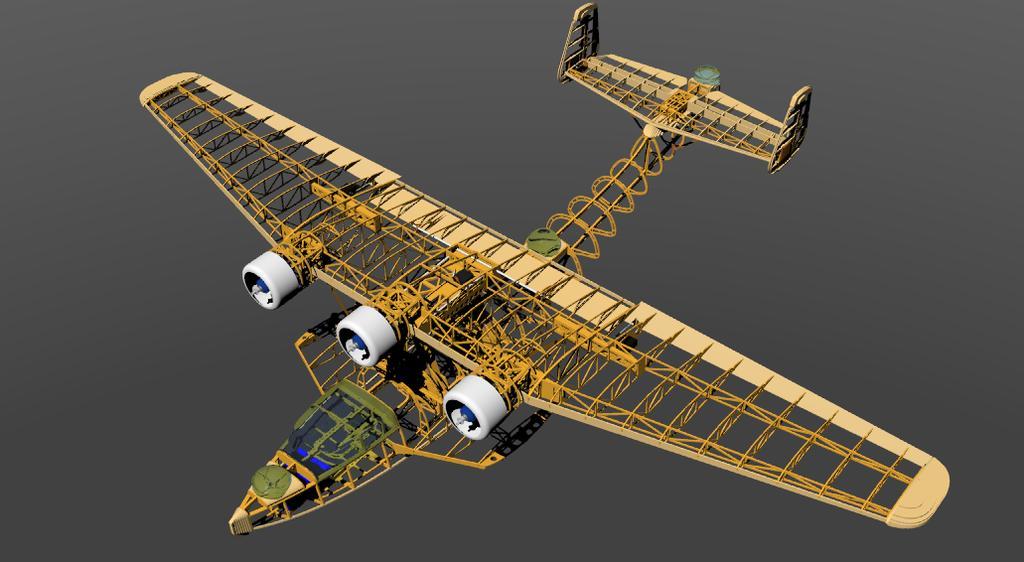 3d Models Of Planes For 3d Printing  Polikarpov I-185