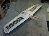 Name: IMG_0317.jpg Views: 75 Size: 173.7 KB Description: Fuse mated to the wing and everything aligned.