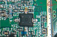 Name: RF Power MOSFET used in RFM23BP has marking W 2 2 Z on it (suggested to add 39PF cap from gate t.jpg Views: 124 Size: 184.3 KB Description: