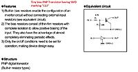 Name: Tiny bias PNP transistor having SMD marking E13 has inbuilt two resistors.jpg Views: 133 Size: 137.1 KB Description: