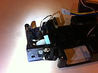 Name: rs32_3.jpg Views: 279 Size: 127.5 KB Description: The blue paper is a shim to straighten the motor, it was a little crooked.