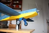 Name: ARCHIV007_CAM07_002_img_0587.jpg Views: 524 Size: 41.5 KB Description: The finished landing gear, attached to the plane with 6x20mm nylon screws