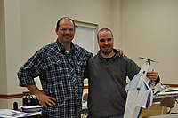 Name: CSC_0109.jpg Views: 238 Size: 59.0 KB Description: Jean-Pierre the proud winner of the Wametsey F3P plane we built in the workshop. The irony is Jean-Pierre was really the one that most wanted to do this activity. Congrats man.