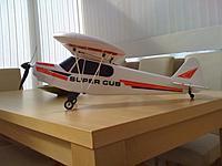 Name: 002 (2).jpg Views: 45 Size: 38.1 KB Description: My first RC plane. TopGun Supercub