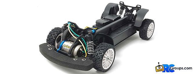 Tamiya XV-01 Long Damper Spec 4WD Kit