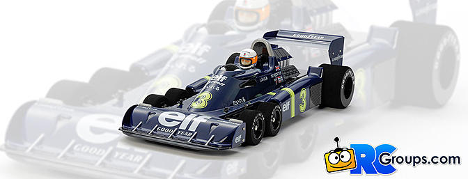 Tamiya Tyrrell P34 Six Wheeler - 1976 Japan GP Special Edition