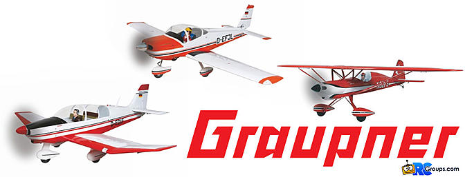 Three Giant-Scale ARF's From Graupner