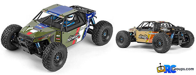 Team Associated 1/8 Nomad DB8