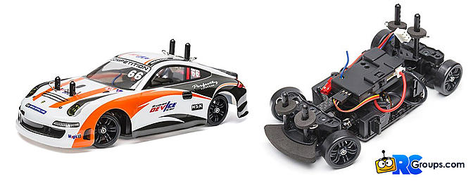 Turnigy TZ4 AWD Micro Touring Car V3 Drift Edition