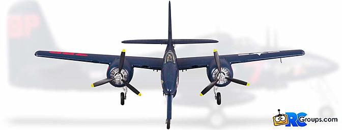 The FMS F7F Tigercat PNP