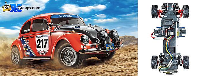 Tamiya Volkswagen Beetle Rally - MF-01X