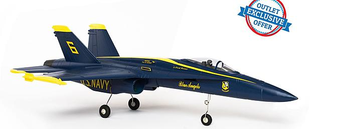 The FORCE RC F-18 Blue Angel V2 PNP