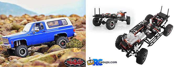 RC4WD Trail Finder 2 With Chevrolet Blazer Body.