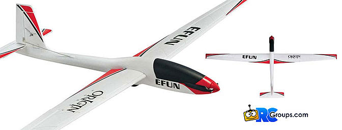 Origin EFUN 85-Inch Brushless Sailplane
