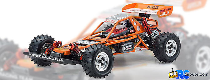 Kyosho Javelin 4WD Re-Release