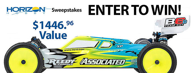 Horizon Hobby Sweepstakes - Team Associated B6D Team Kit