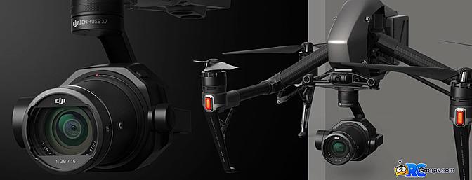 DJI Zenmuse X7 - Super 35 Camera