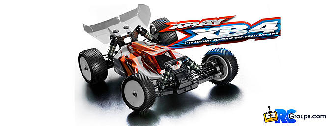 Xray XB4 2018 - 4WD Off Road Buggy