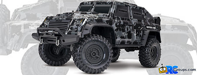 The Traxxas TRX-4 Tactical Unit