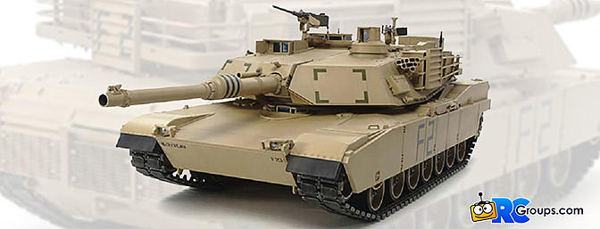 Tamiya 1/16 US M1A2 Abrams Full Option Kit