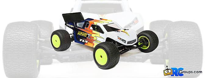 TLR 22T 4.0 2WD Stadium Race Truck Kit