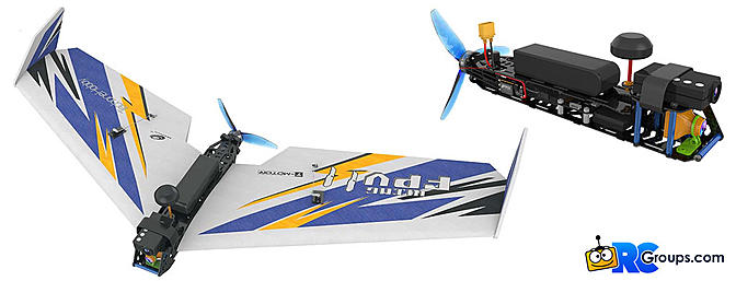 TechOne Hobby FPV Flying Wing II