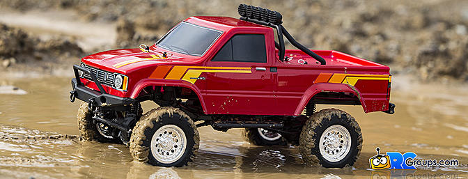 Thunder Tiger Toyota Hilux 4wd - RCGroups Review