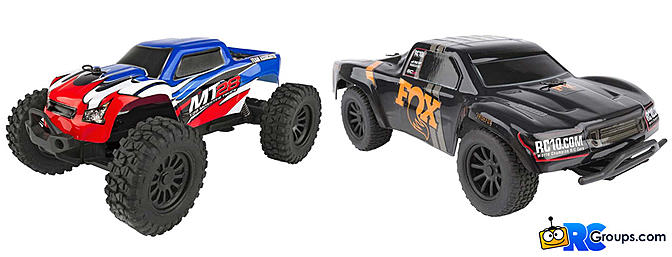 Team Associated SC28 and MT28