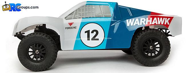 Force RC Warhawk 4WD SCT