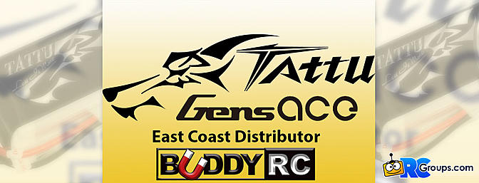Buddy RC Becomes East Coast Distributor - Gens Ace and Tattu