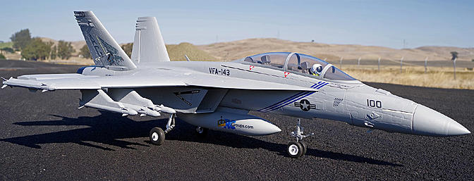 FMS F/A-18F Super Hornet 70mm EDF Jet