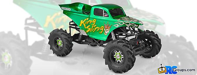 JConcepts King Sling Mega Truck Body