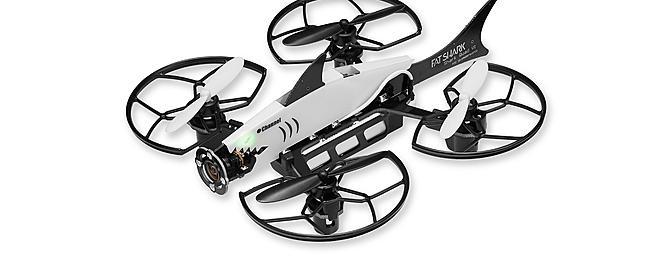 The Shark drone.