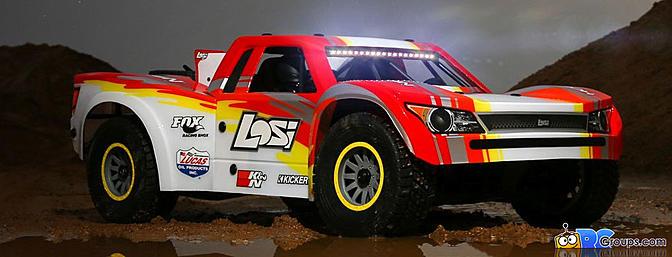 Losi Super Baja Rey 4WD Desert Truck