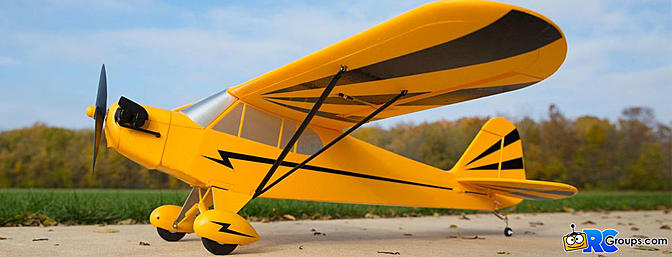 E-flite Clipped Wing Cub 1.2m