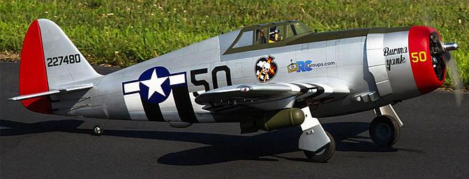 Hangar 9 P-47D Thunderbolt 20cc
