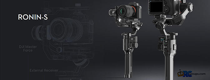 Coming Soon! DJI Ronin-S DSLR Gimbal