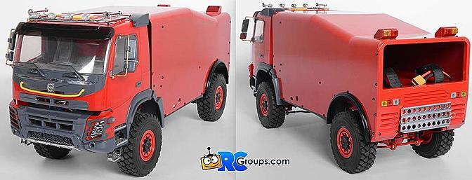 RC4WD Dakar Rally Race Truck