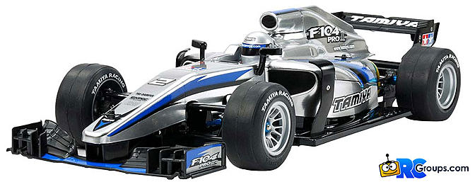 Tamiya F104 Pro II Formula One F1 Kit