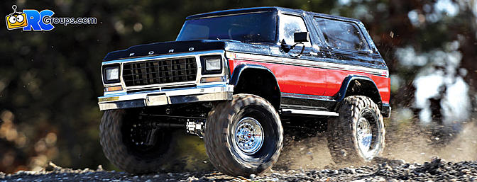 The Traxxas TRX-4 Bronco Ranger XLT