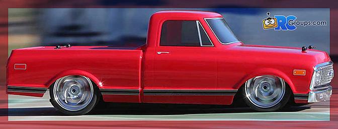Vaterra 1972 Chevy C10 Pickup Truck V-100 S 4WD