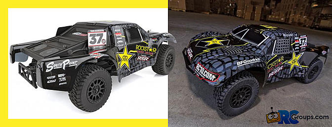 Team Associated ProSC10 Rockstar RTR