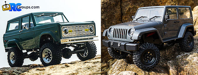 RC4WD Gelande II Blackjack and Black Rock