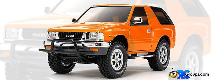 Tamiya Isuzu Mu Type X - CC01