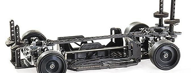 The SinoHobby Mini-Q 1/28 On-Road car.