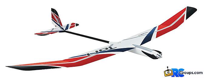 Great Planes Tori 2M EP Glider Rx-R