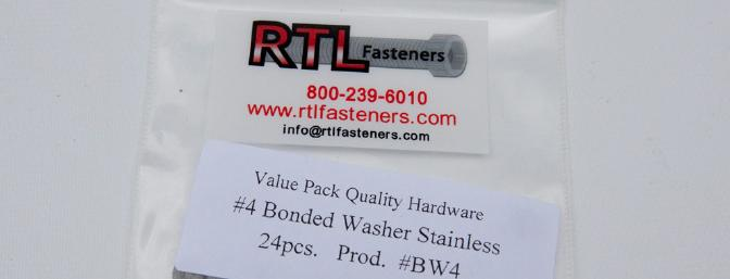 #4 Bonded washer